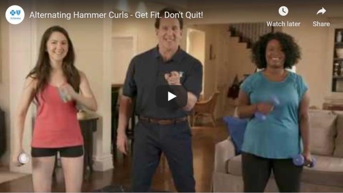 Alternating hammer curls