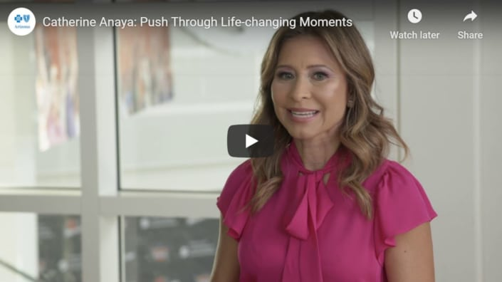 How to Push Through Life Changing Moments