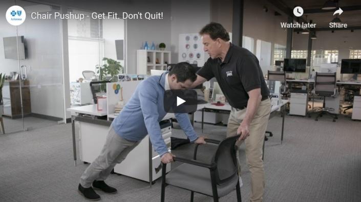 Chair Pushup