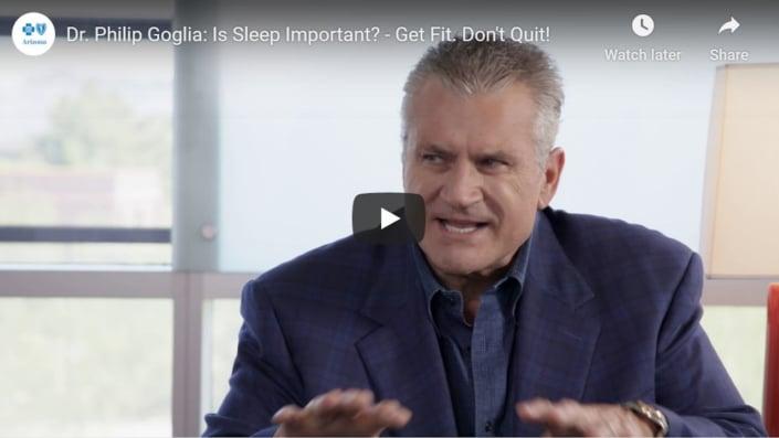 How important is sleep