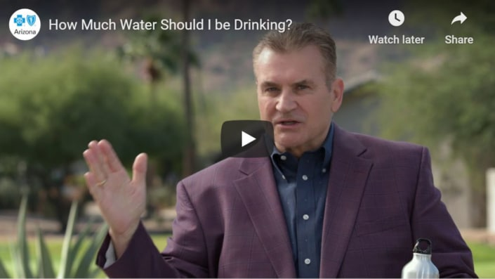 How much water should I be drinking