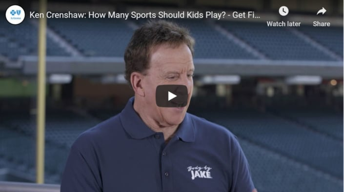 How many sports should kids play