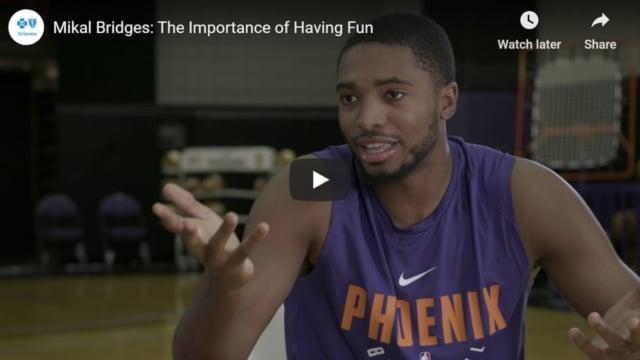 The importance of having fun