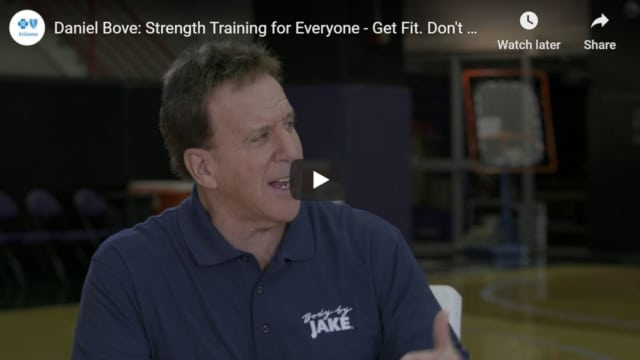 Strength training is for everyone