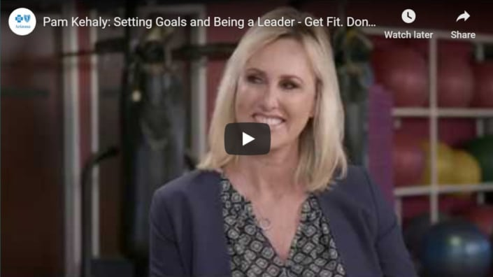 Setting goals and becoming a leader
