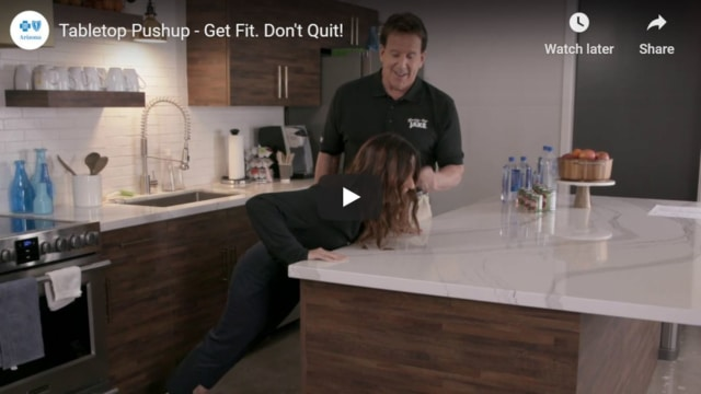 Table Top Pushup