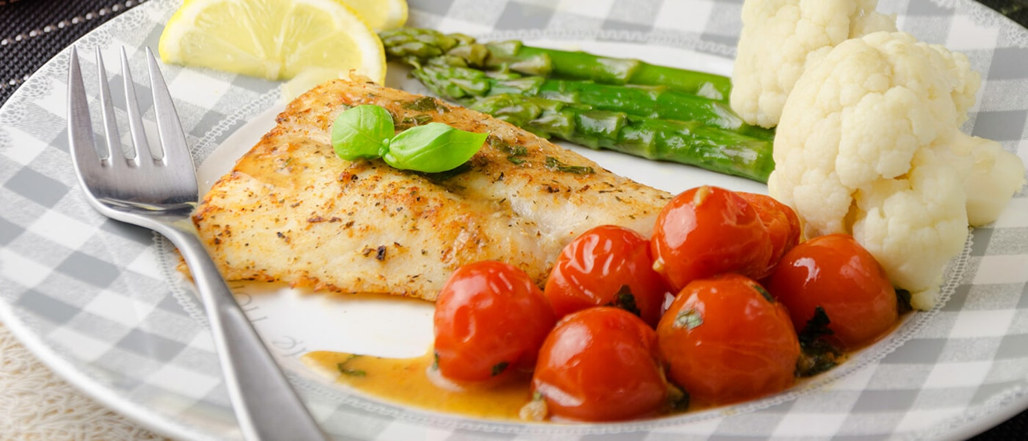 Roasted Fish and Asparagus