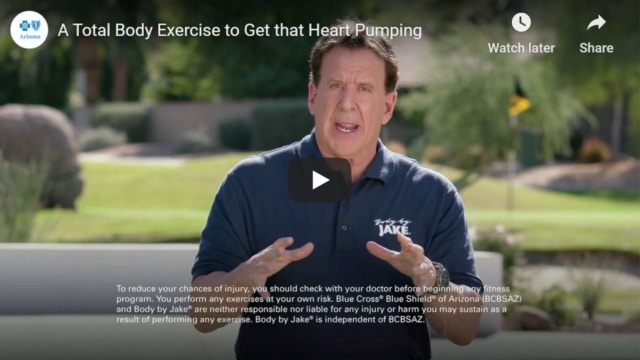 A total body exercise to get the heart pumping