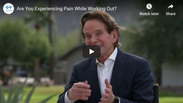 Pain while working out