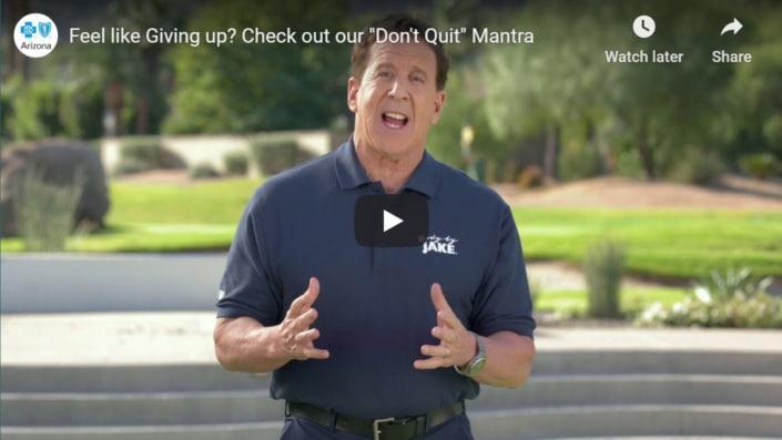 Don't Quit Mantra