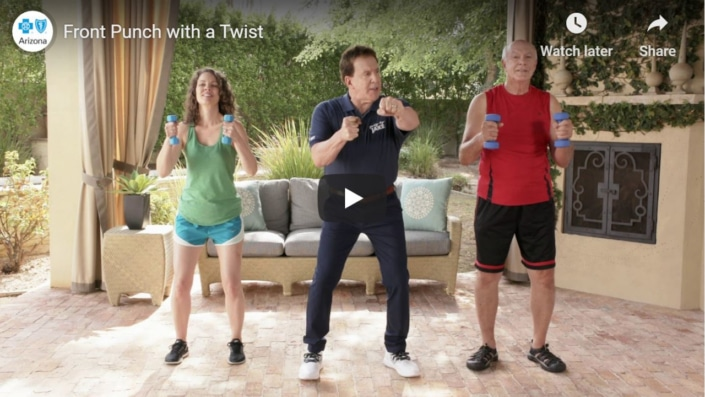 Front Punch with Twist