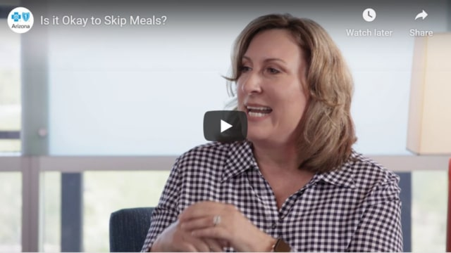 Is it okay to skip meals