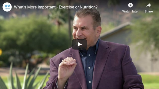 Nutrition Or Exercise