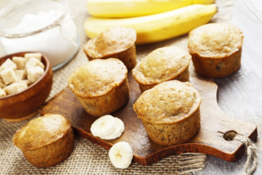 Skinny Banana Bread Muffins Get Fit Don T Quit