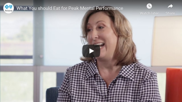 What Should you Eat for peak mental performance