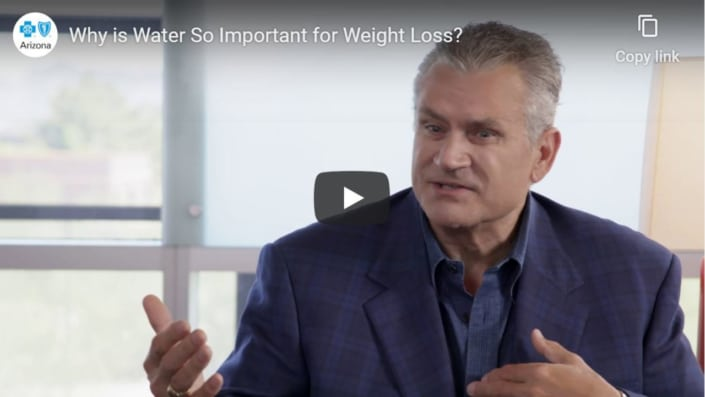 Why is water important for weight loss