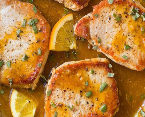 Orange Sage Porkchops
