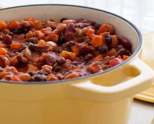 3 Bean Beef Chili