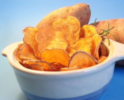 cinnamon potato chips