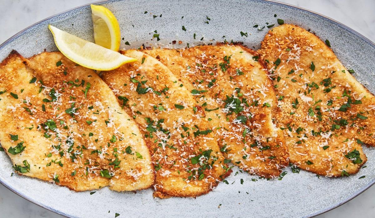 Garlic Parm Flounder